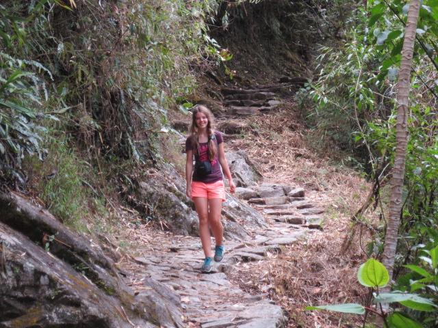 Dora on the Inca trail