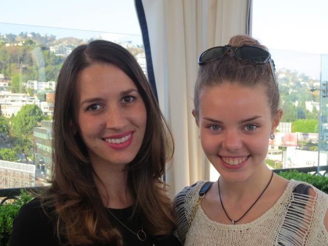 Erin and Dora - two beautiful girls