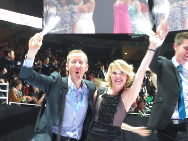 And here is the wonderful couple that met through Nu Skin - both Diamond executives - Guy in the UK and Orianne in France
