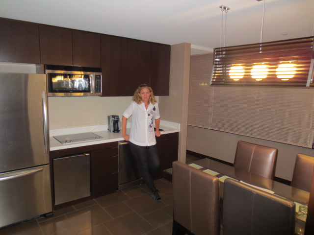 Our suite had a very nice kitchen