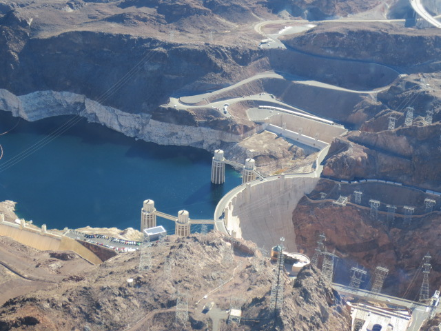 There is so much concrete in the Hoover Dam that if you would build a road with it, it would be a two lane road stretching from East coast to West coast of the US