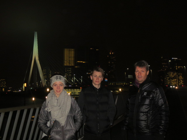 We walked to Hotel New York