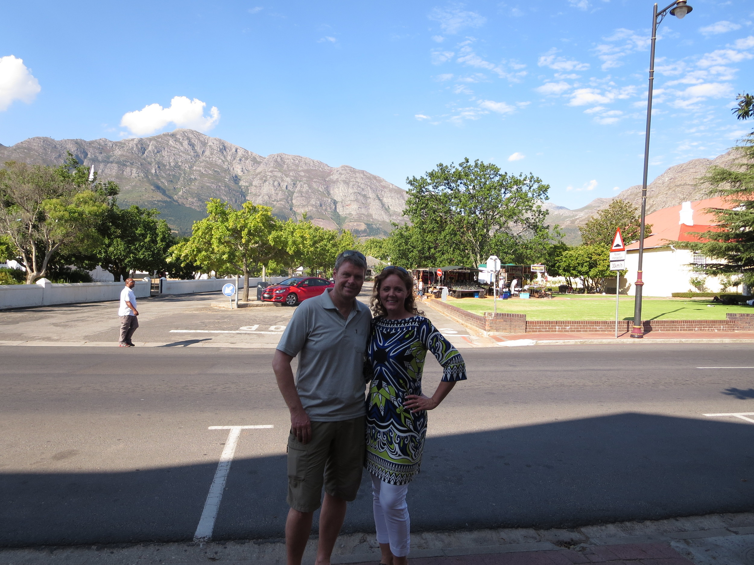 Out and about in Franschhoek
