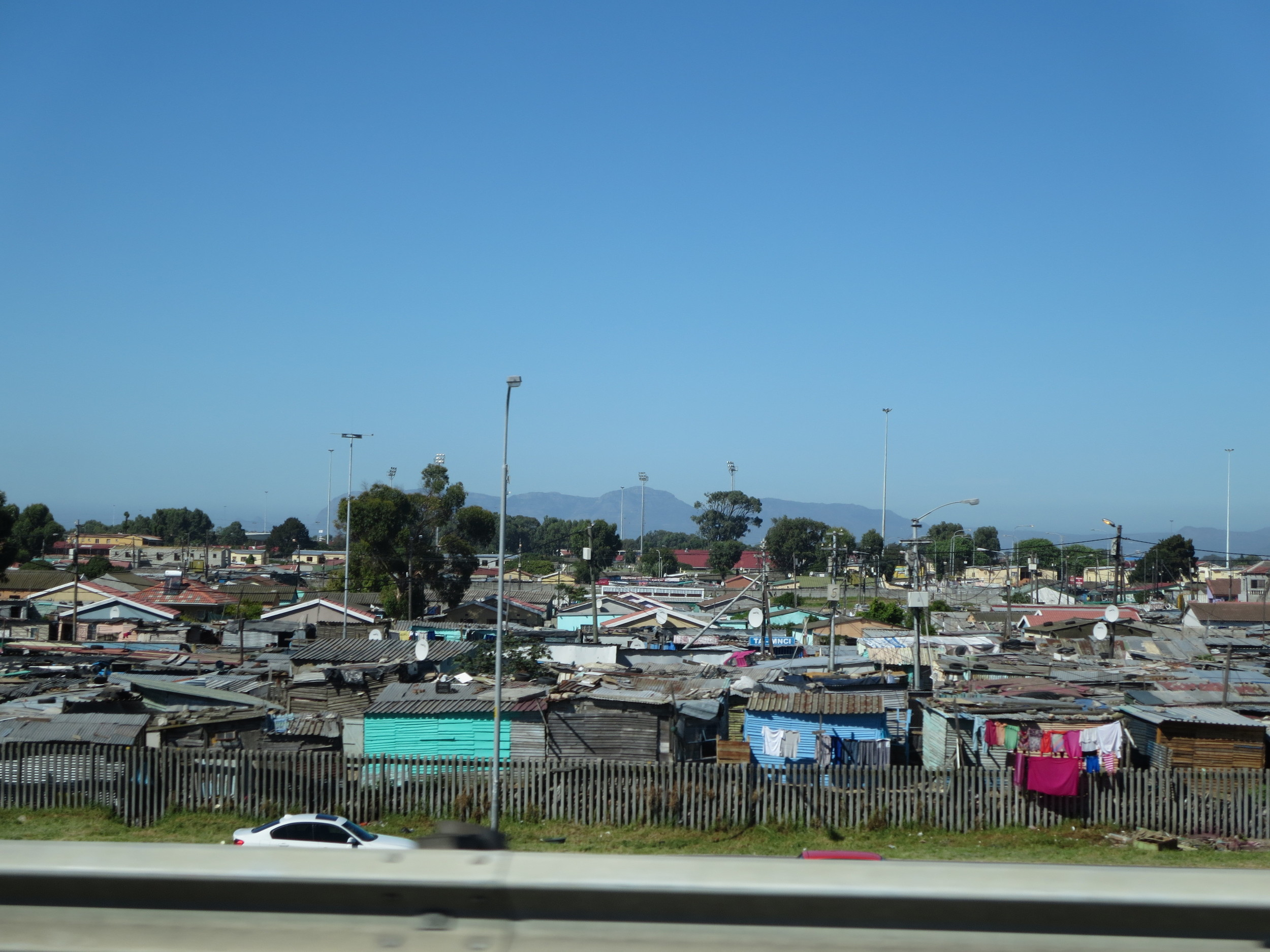 We drove past Townships like this for many km - very sad to see these conditions