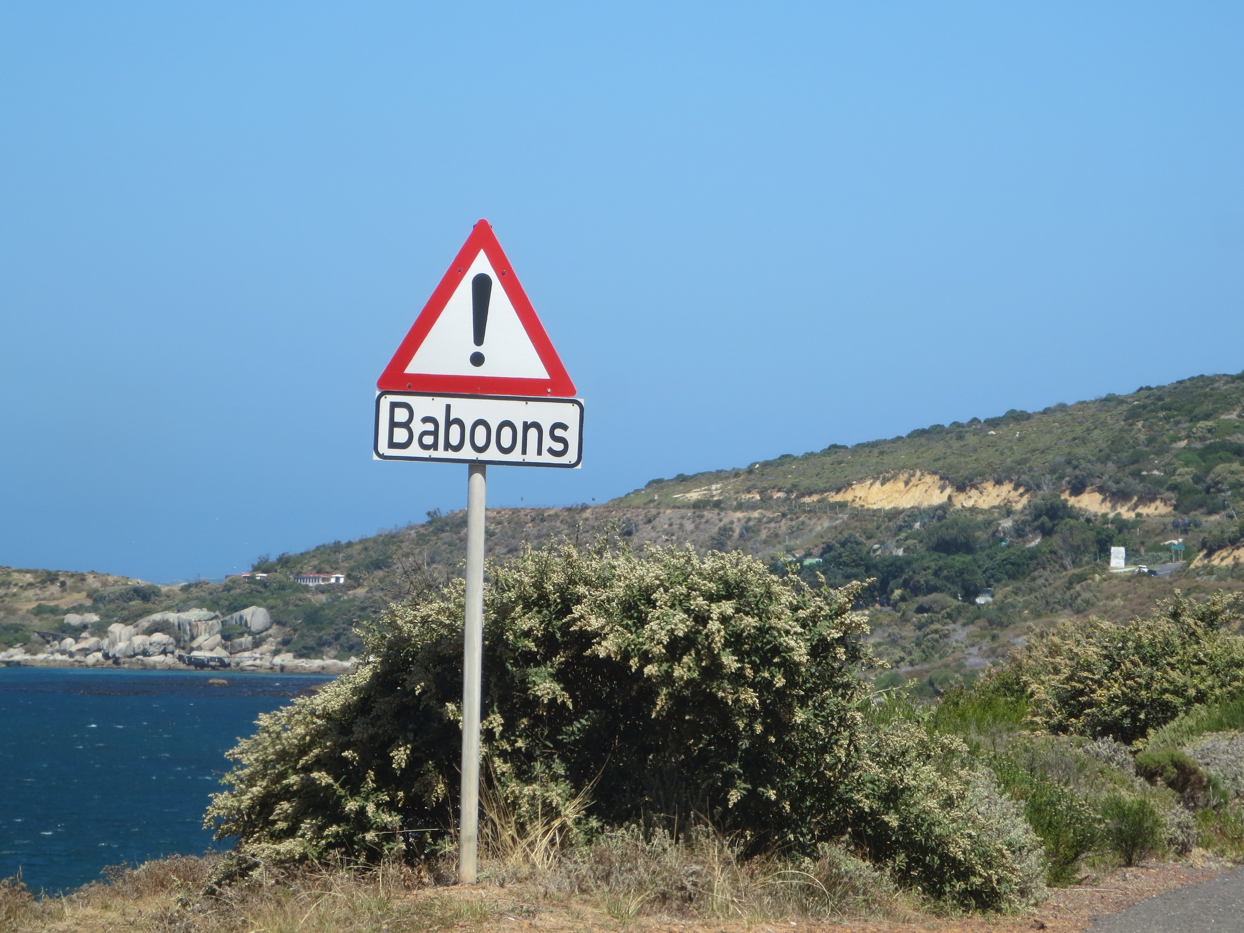 Better to be aware!  This is a road sign you will not see in many places
