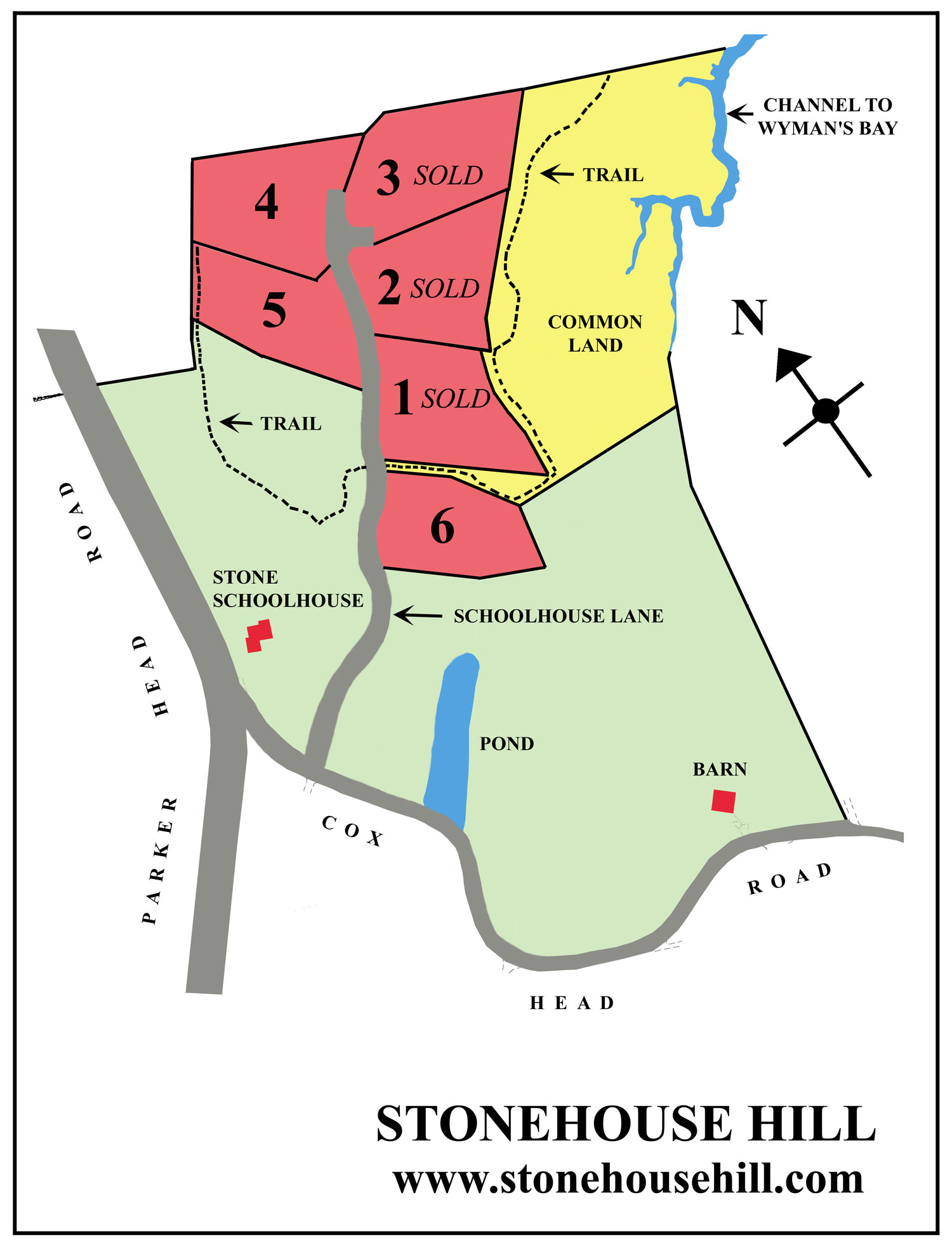 Site Map (Click to enlarge)