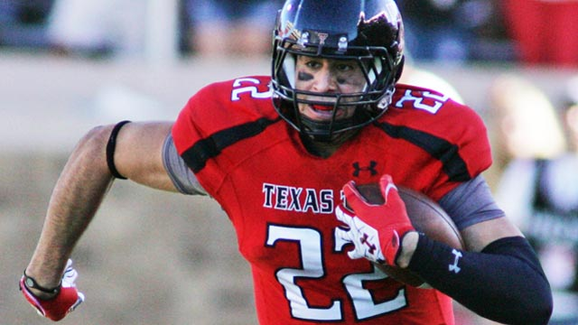 Texas Tech tight end Jace Amaro might be the most devastating offensive weapon in the Big 12. (Photo courtesy: CBSSports.com)