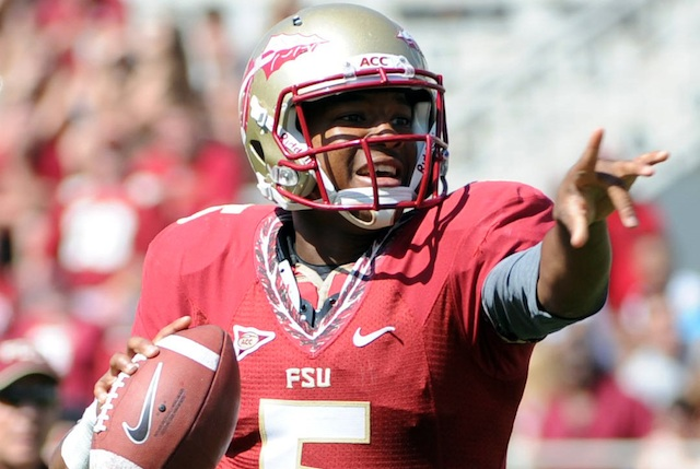 It's Jameis Winston's world – for a week. (Photo courtesy: CBSSports.com)