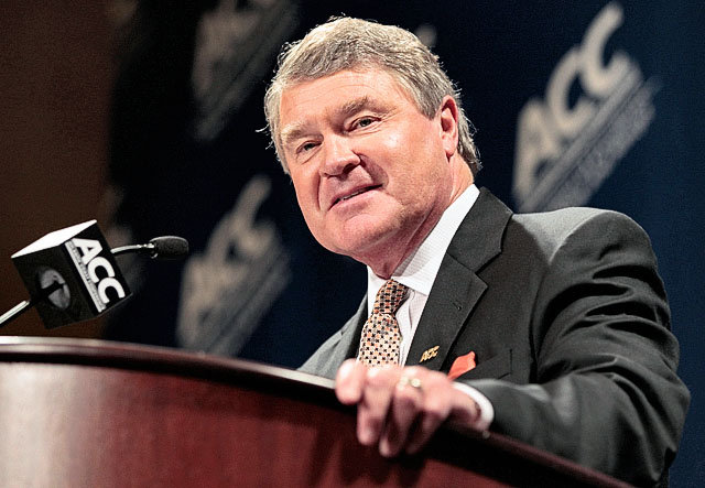 John Swofford and the ACC re-gifted their scheduling policy. (Image courtesy: USA Today Sports)