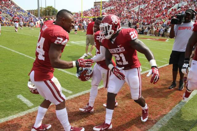 Keith Ford is looking to fill Brennan Clay's shoes in 2014. (Image courtesy: SoonerSports.com)