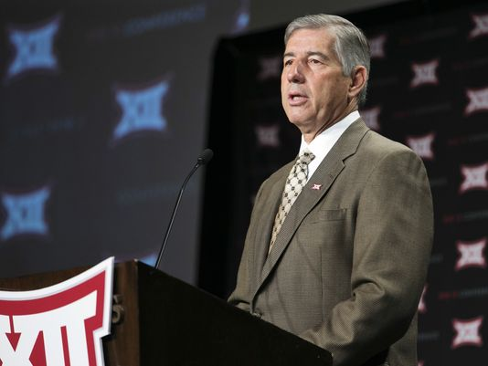 Straight shooting from the Big 12 boss. (Image courtesy: USAToday.com)