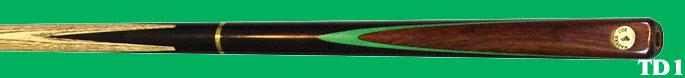 TD 1 &2  3/4 machine splits butt - ebben butt - essenhout - effen ebben butt of slice in groen  €130.00.
