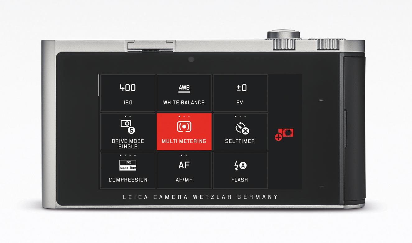 Par glisser/déposer, vous personnalisez votre écran par les fonctions photographiques que vous utilisez le plus fréquemment.