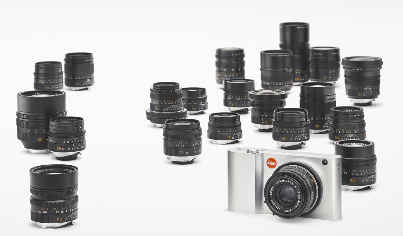 Gamme optiques Leica M