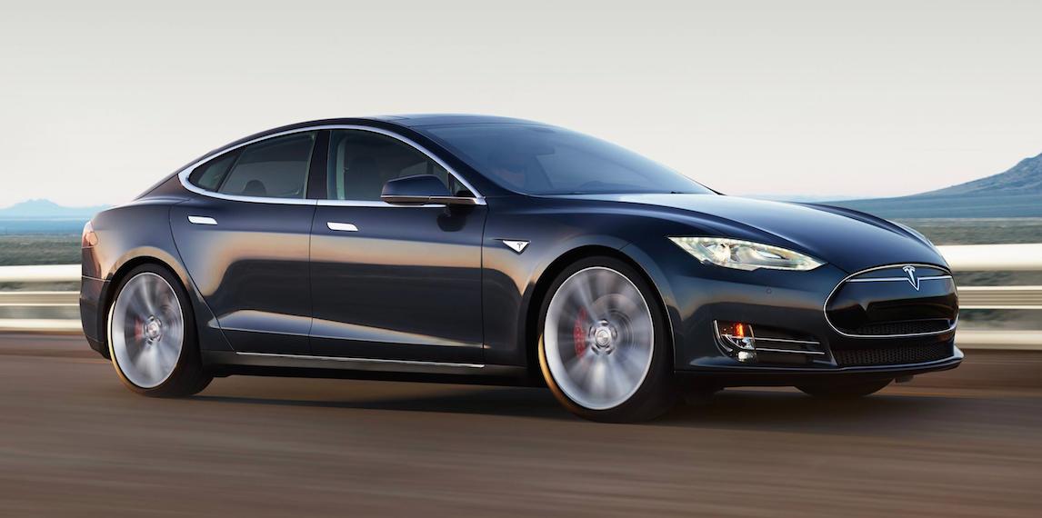 La ligne de la Model S est très fluide