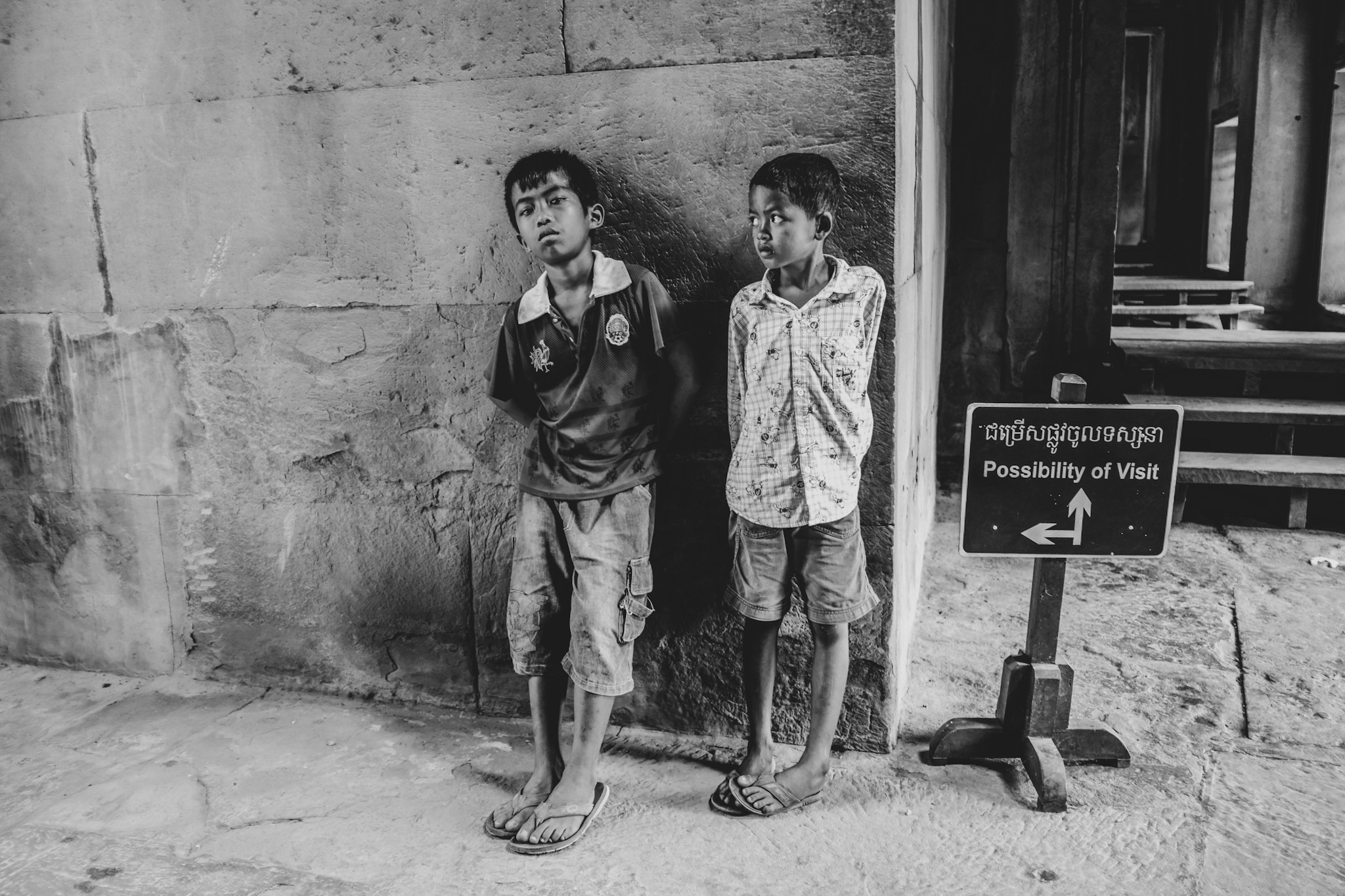 Temple d'Angkor - Siem Reap - Fujifilm X100F