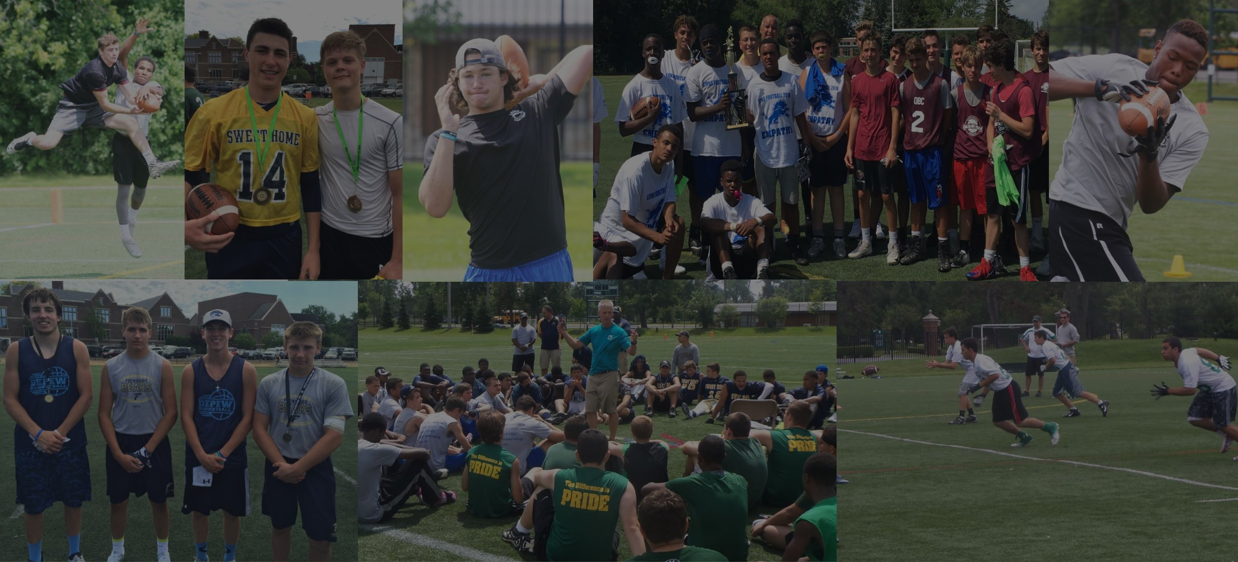 ___________  7-on-7 Football Tournament (Varsity and JV)  ___________   Passing Tournament