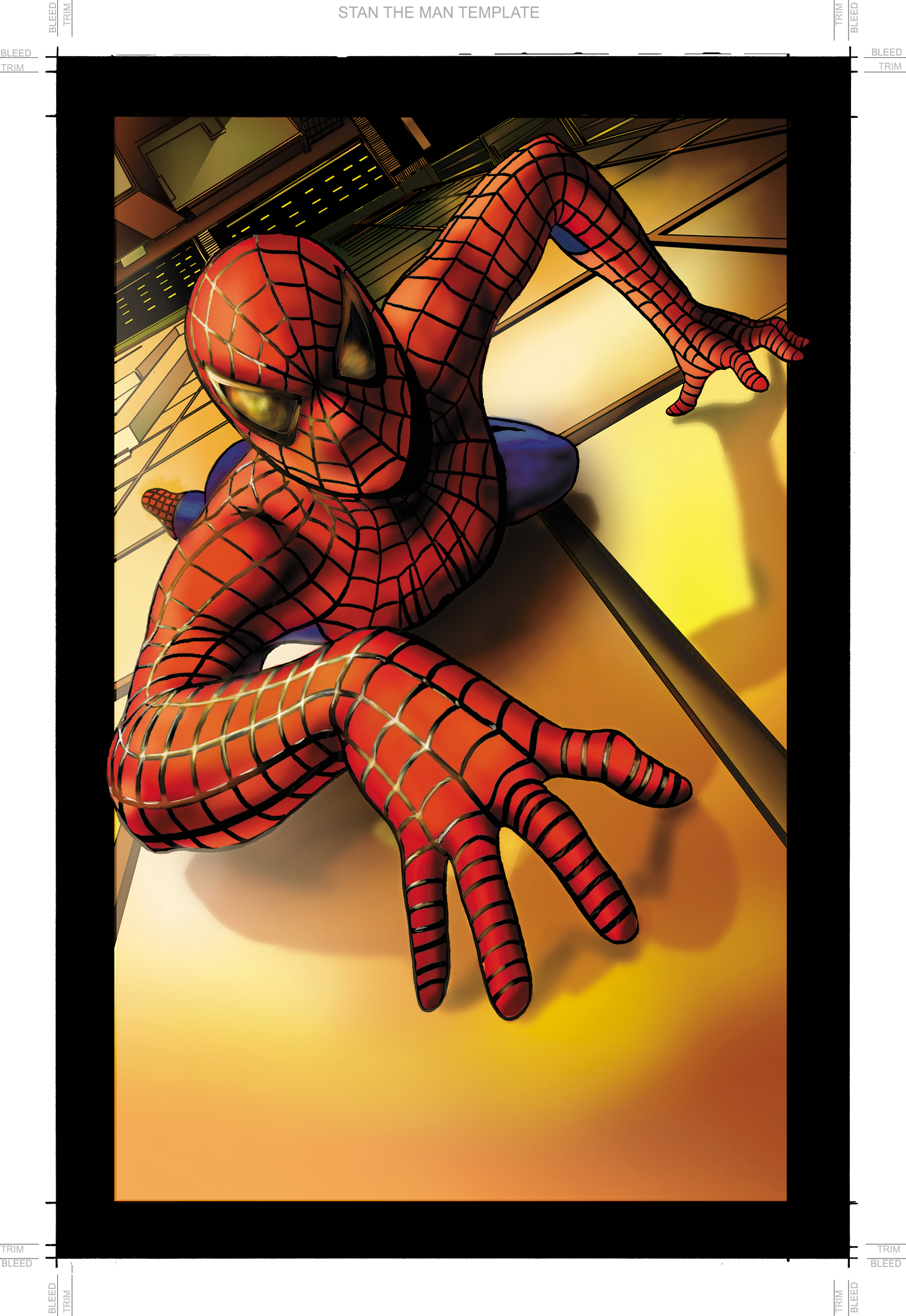 Spider-man poster page