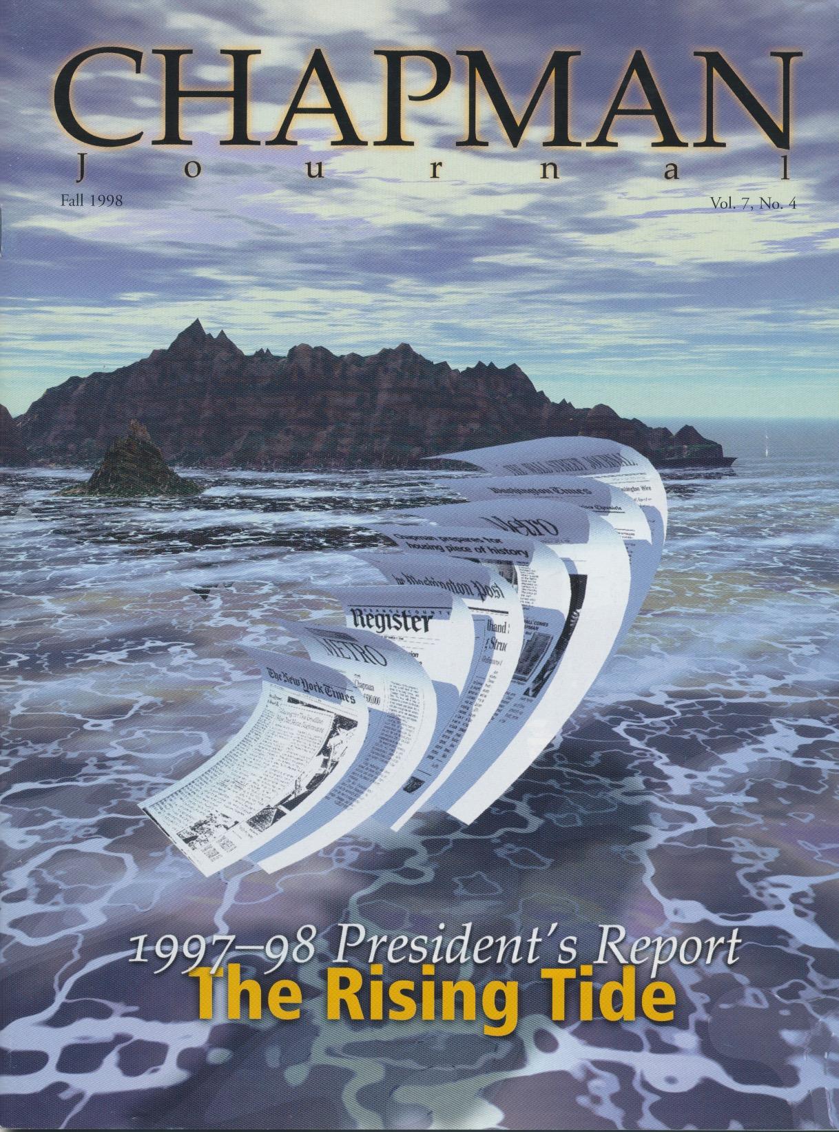 Chapman Journal cover illustration