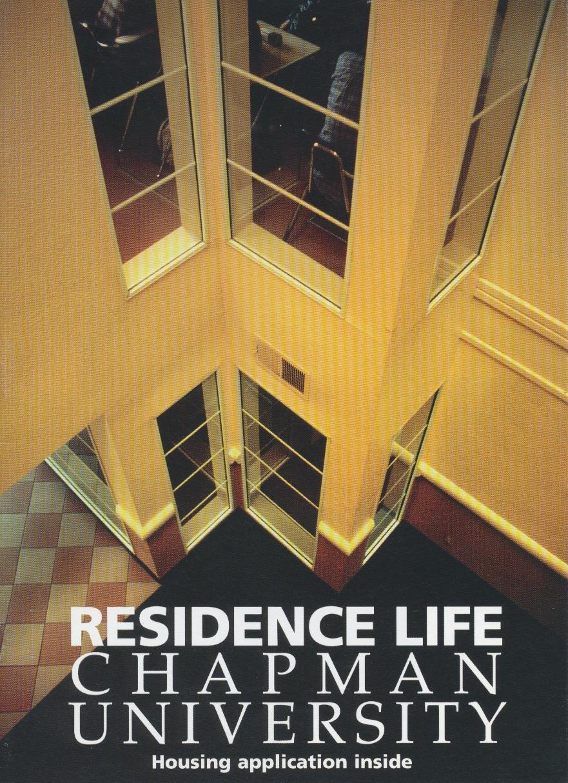 residence life brochure