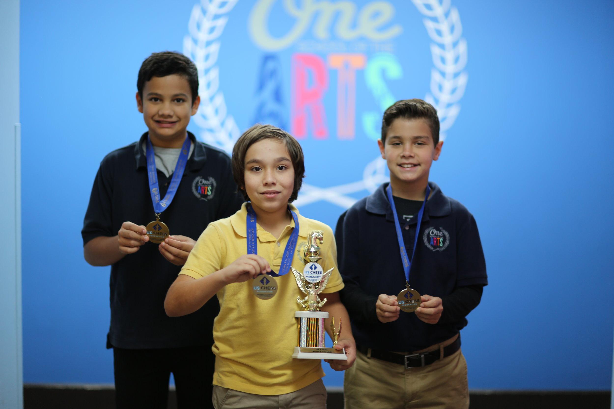 December 2014 - K -12 National Scholastic Chess Championships