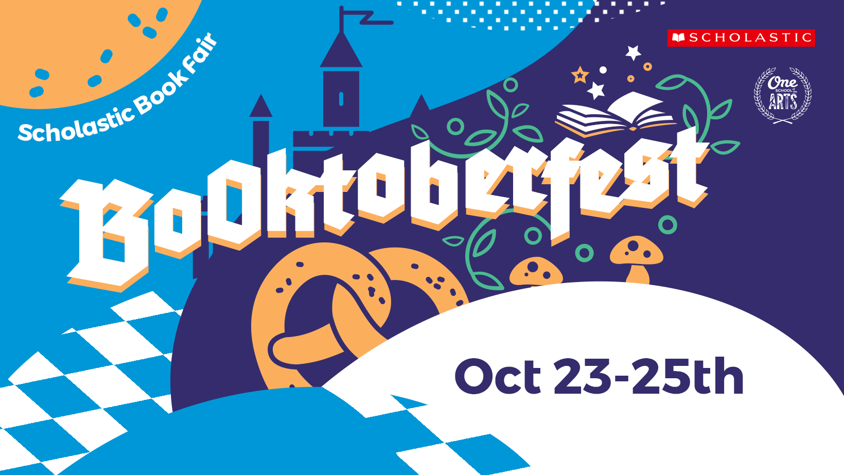 The Authors Are Coming To Booktoberfest One School Of The Arts Central Florida Private Christian School