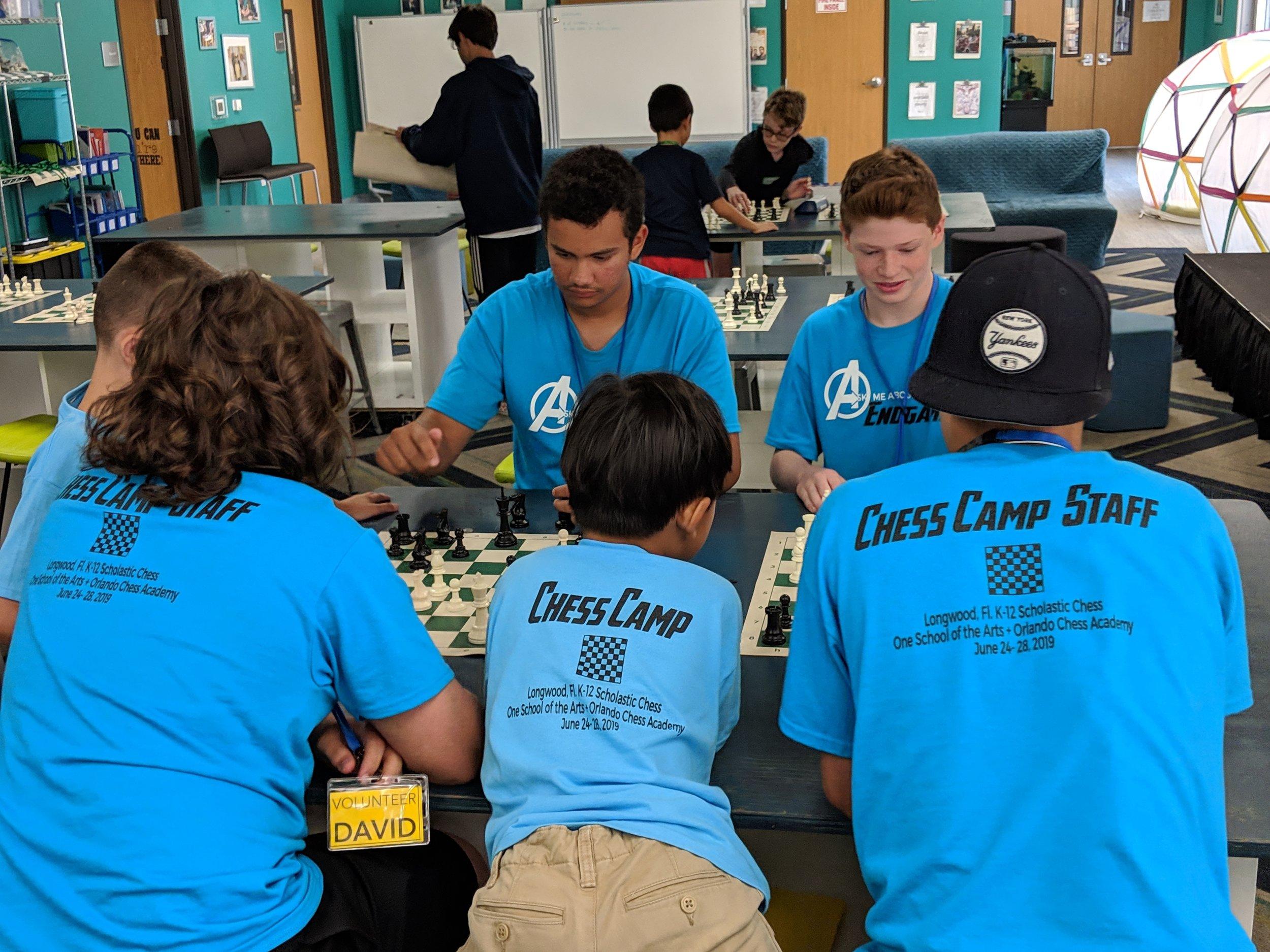Orlando Scholastic Chess Club — One School of The Arts