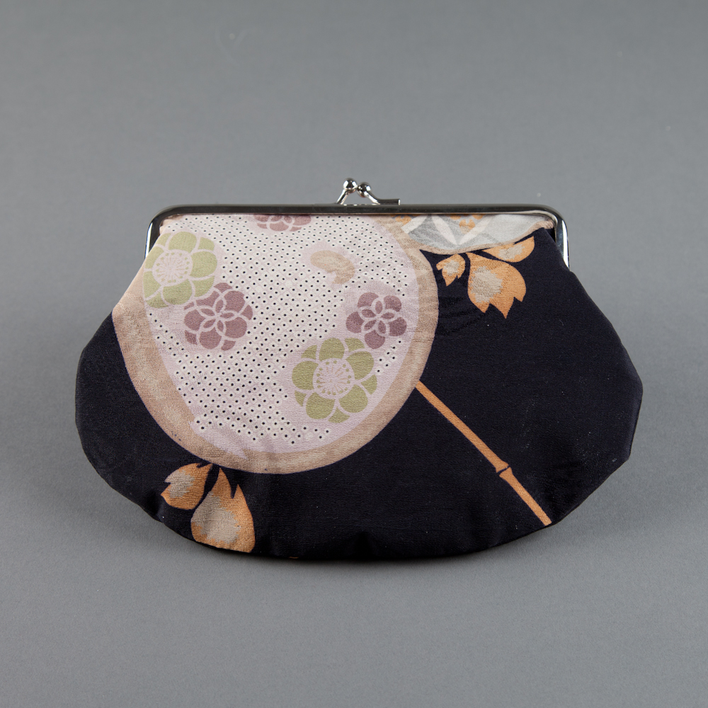 SOLD! - kimono silk 03 (back), green lining