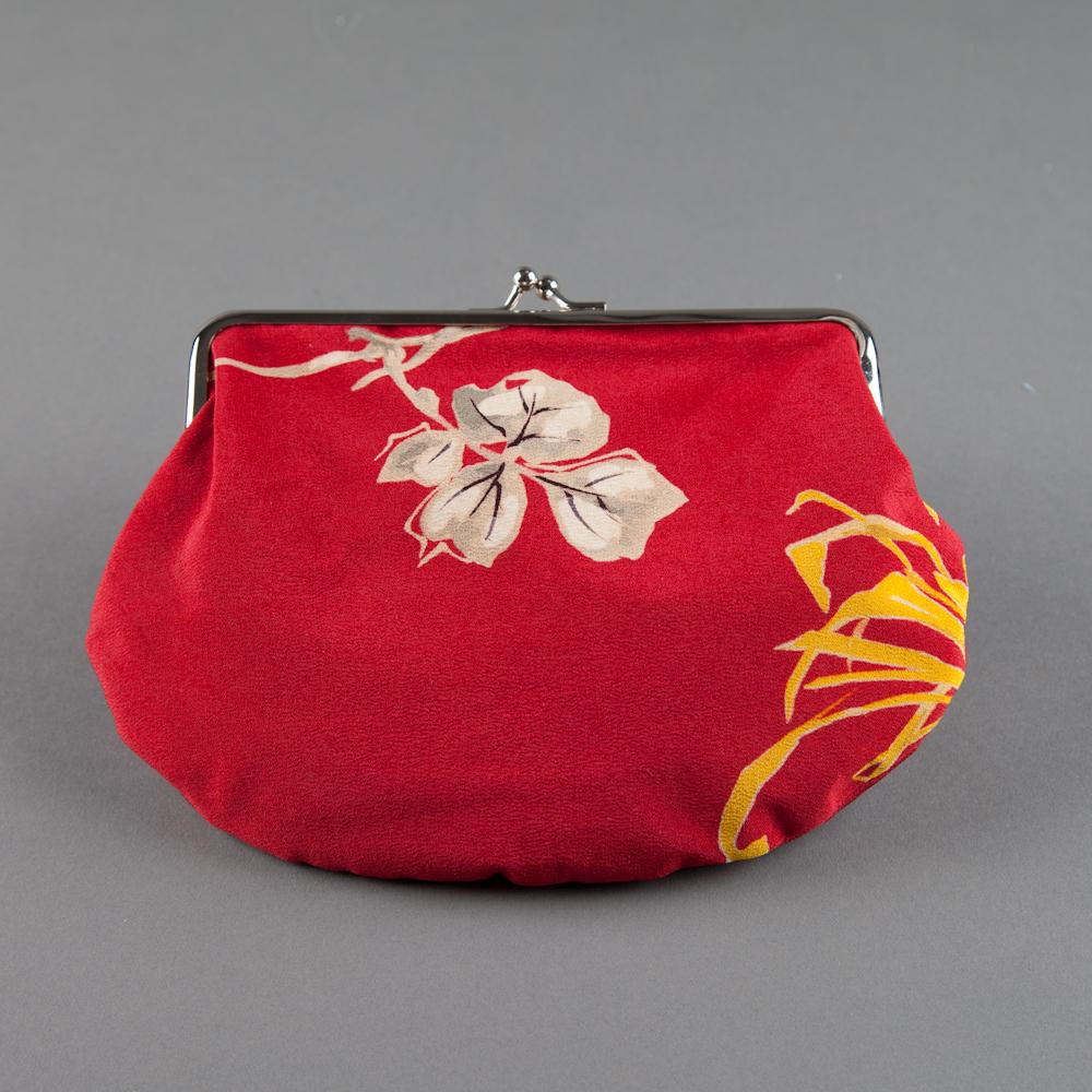 SOLD! - kimono silk 05 (back), pink lining