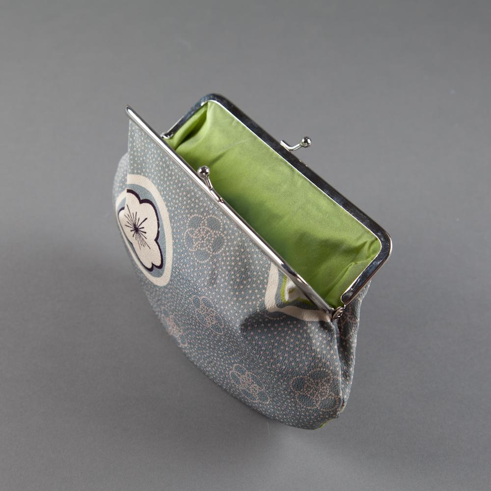SOLD! - kimono silk 01 - green lining (inside)
