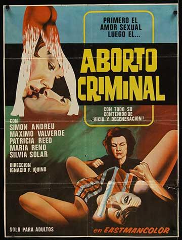 "Aborto Criminal - Mexican 26 x 35"""