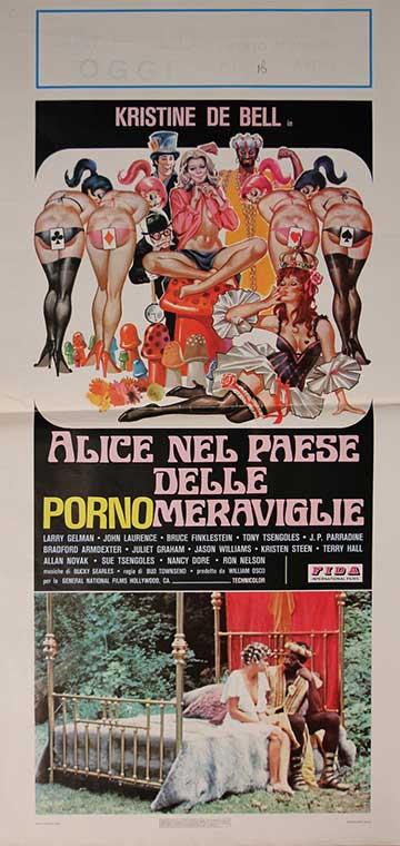 Alice In Wonderland - Italian Locandina