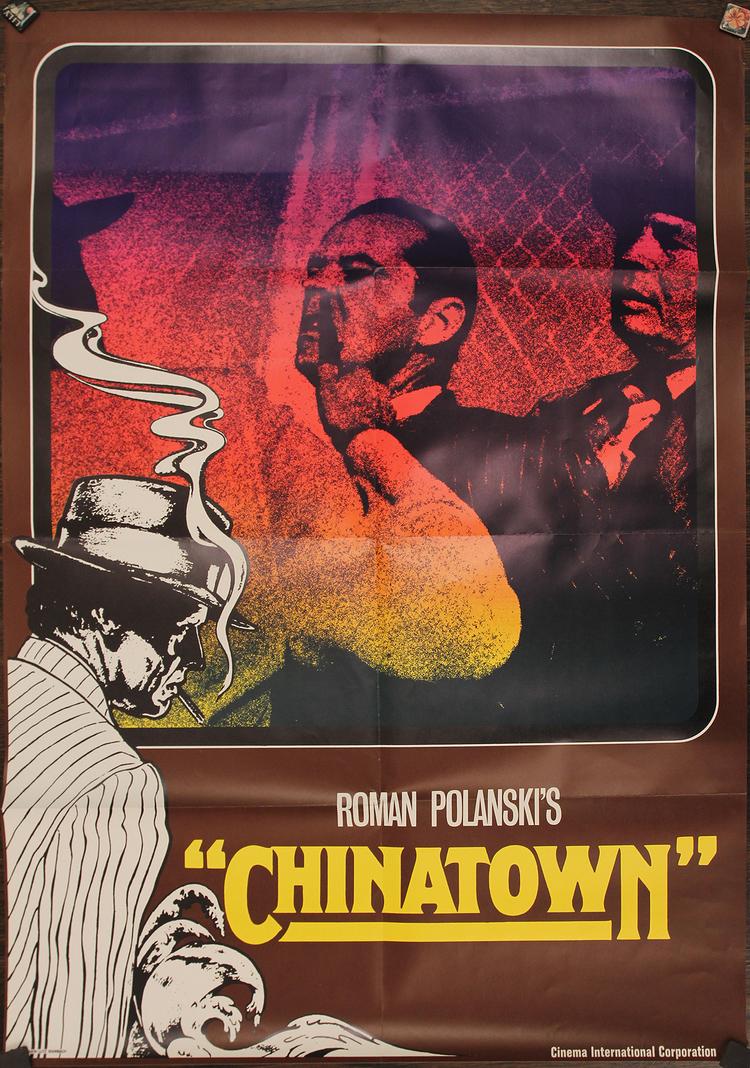 "Chinatown - German 23x33"""