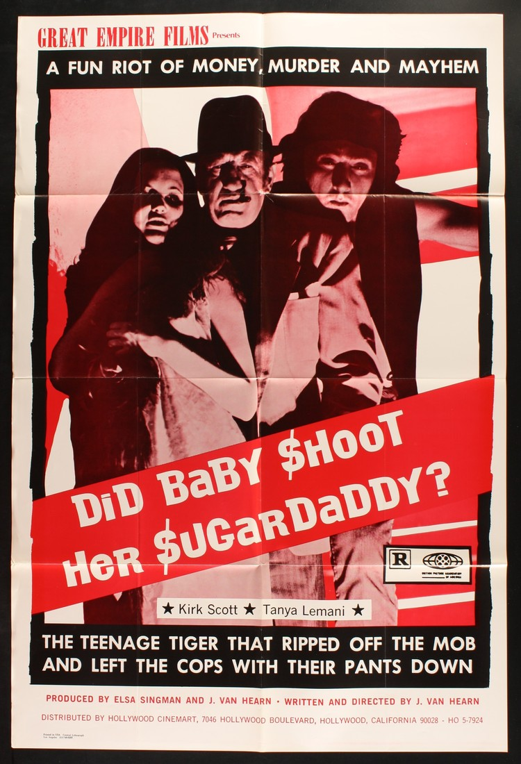 Did Baby Shoot Her Sugar Daddy? - US 1 Sheet