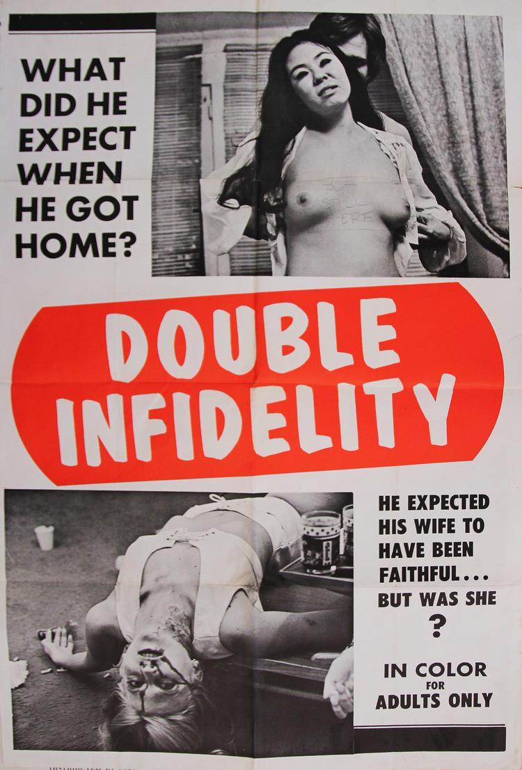 Double Infidelity - US 1 Sheet