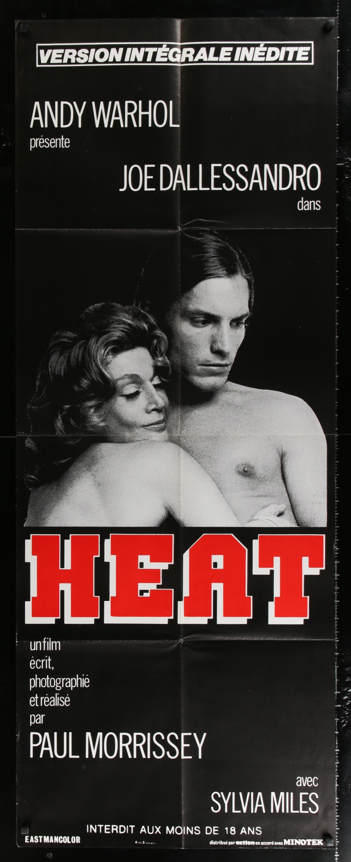 Andy Warhol's Heat - Locandina