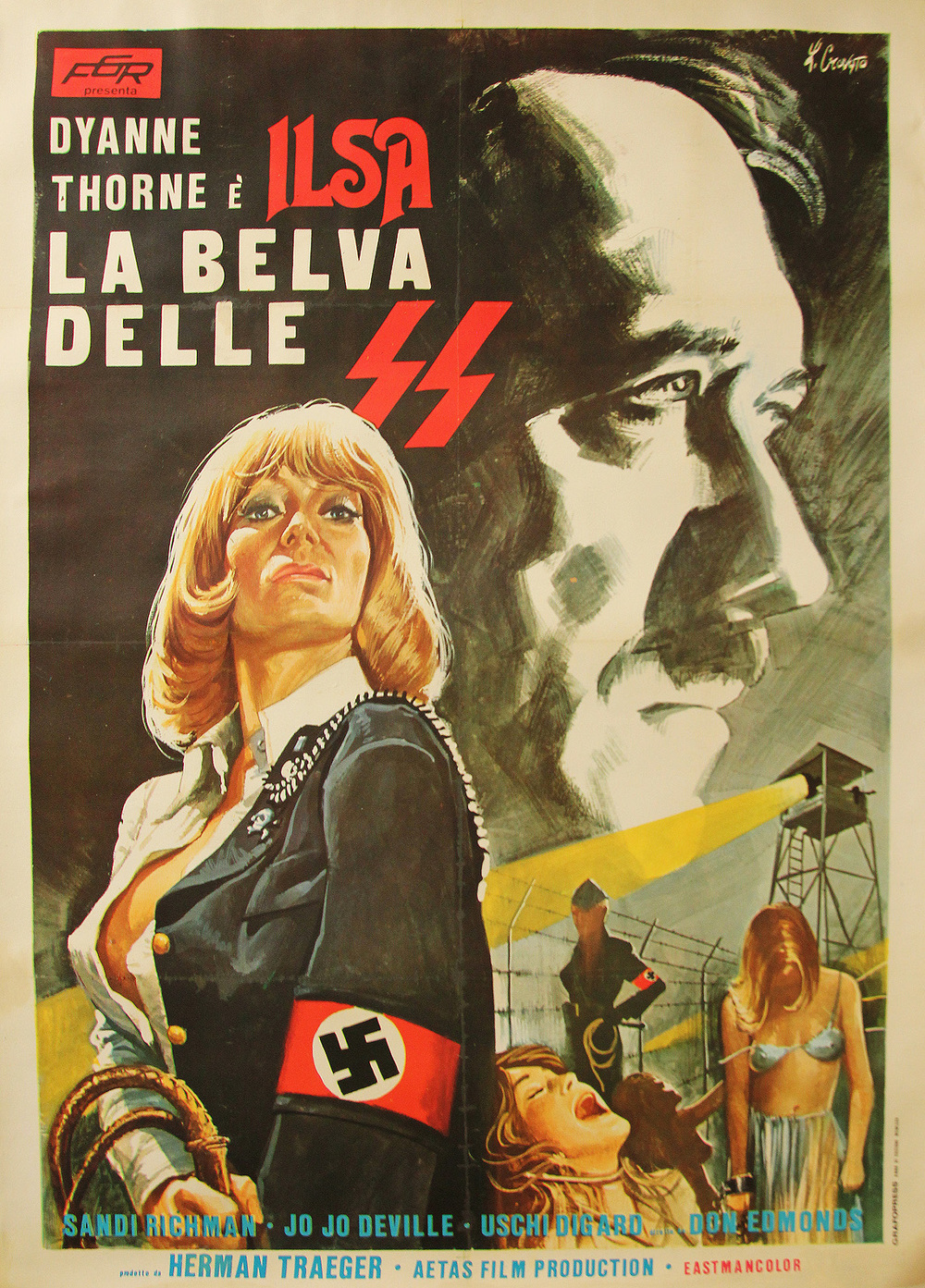 Ilsa She Wolf of the SS - Spanish