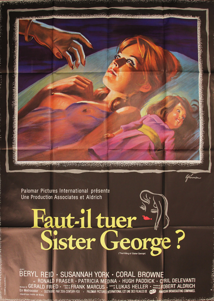"""Killing of Sister George - French 46x61"""""""