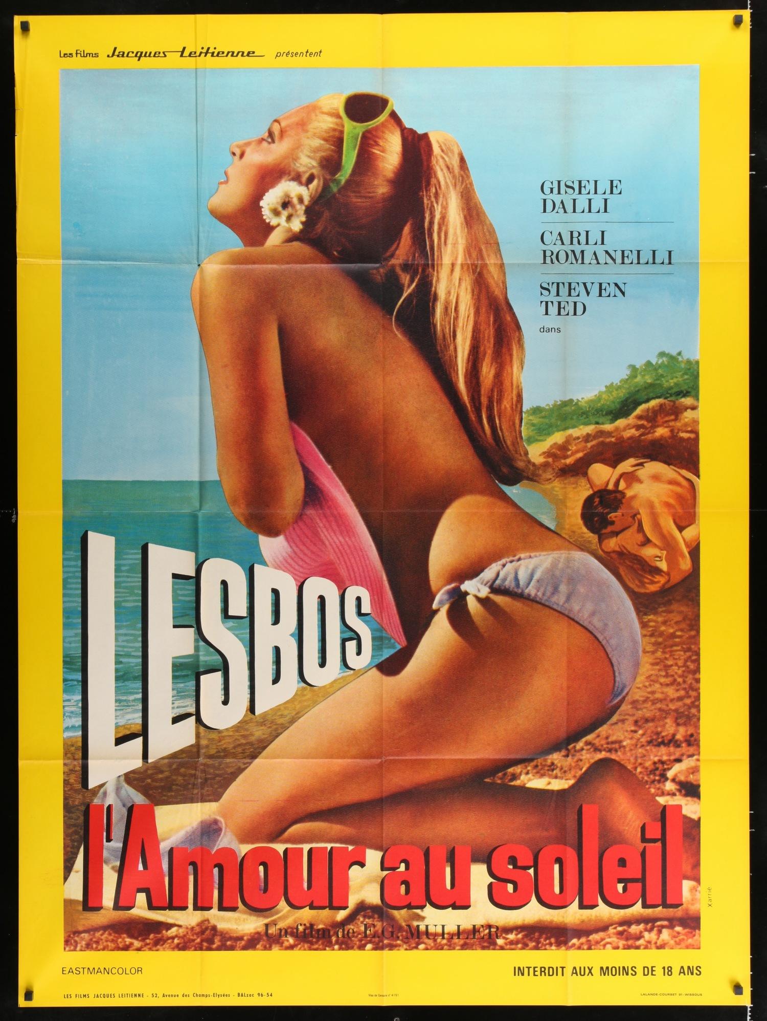 "Lesbo - French 46x61"""