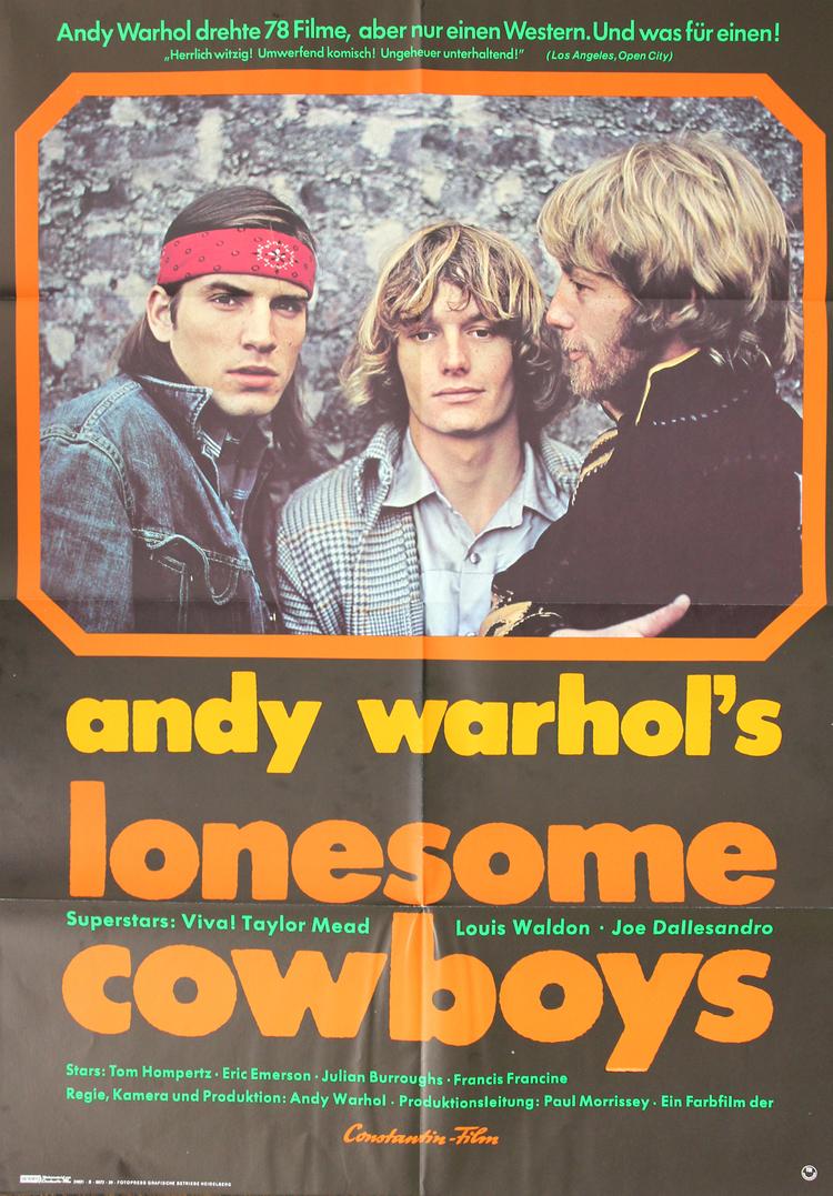 "Lonesome Cowboys - German 23x33"""