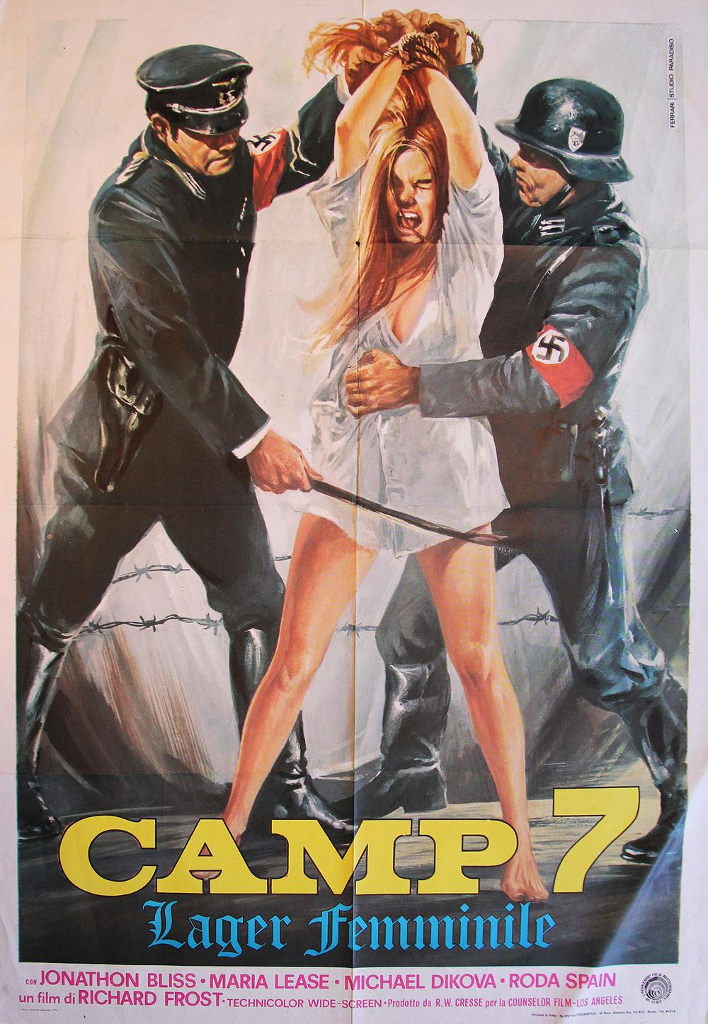 Love Camp 7 - Italian 2F Manifesto