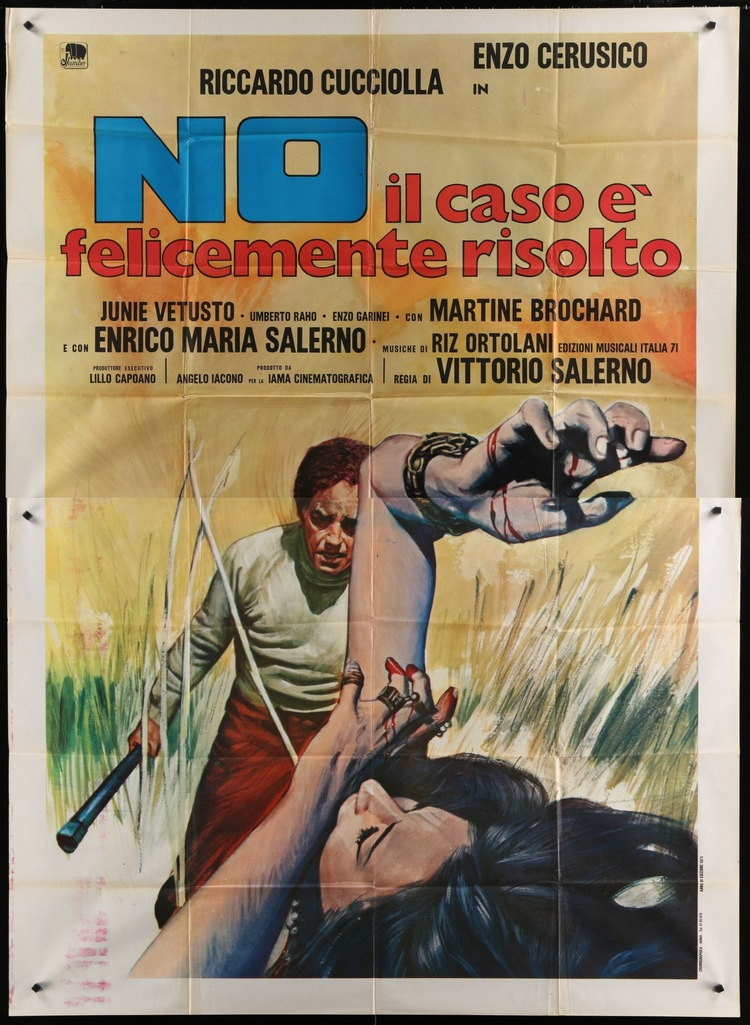 No, the Case Is Happily Resolved - Italian 4F Manifesto