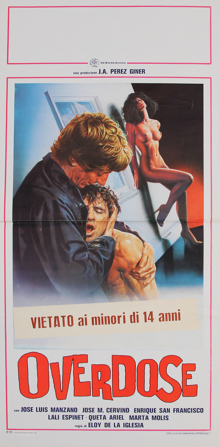 Overdose - Italian Locandina
