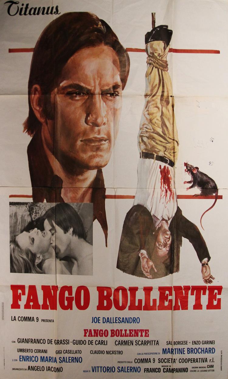 Savage Three - Italian 4F Manifesto F2-Panel