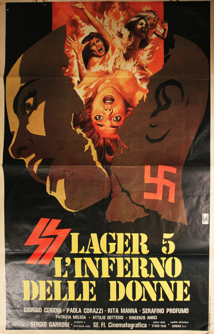 SS Camp 5:  Women's Hell - Italian 2 Manifesto