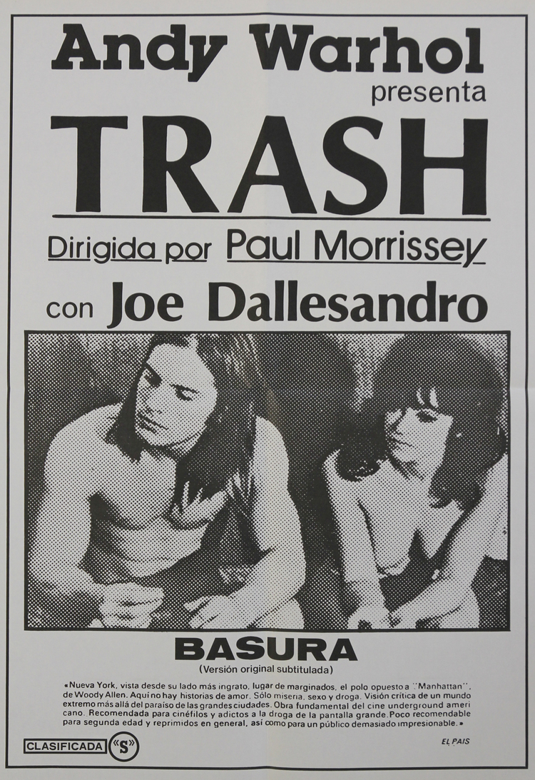 Andy Warhol's Trash - Spanish