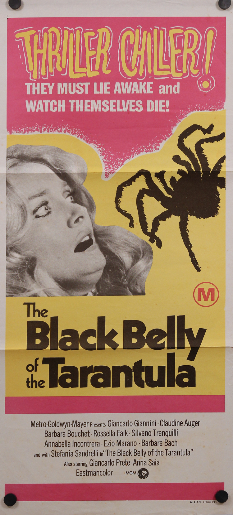 Black Belly of the Tarantula - Australian Daybill