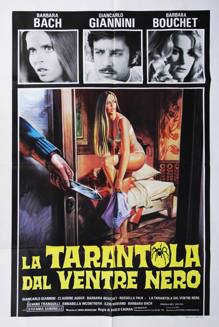Black Belly of the Tarantula - Italian 2F Manifesto