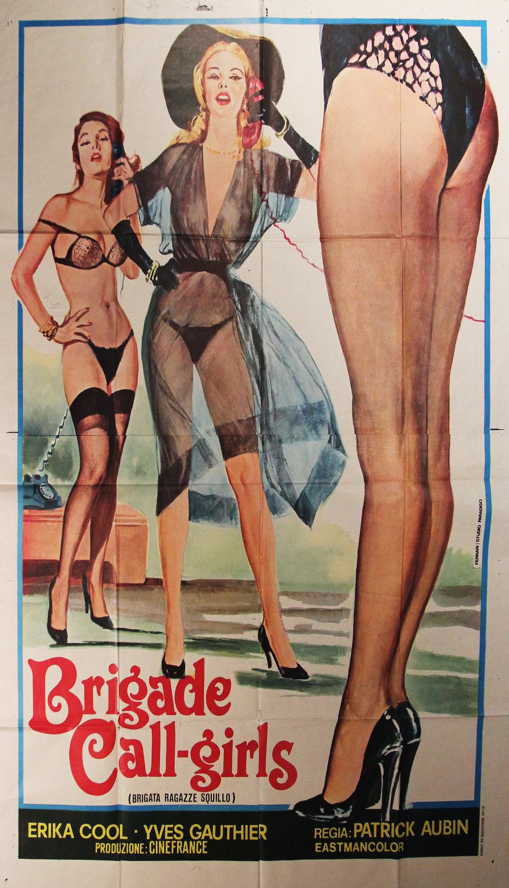 Brigade Call-Girls - Italian 2-Panel