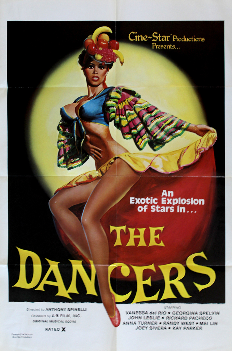 Dancers, The - US 1 Sheet
